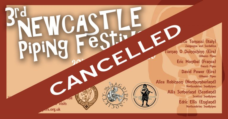 Piping Festival CANCELLED